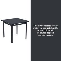 Costa Square Table - Anthracite