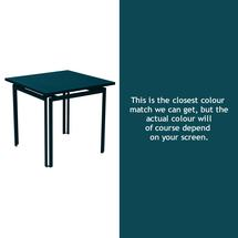 Costa Square Table - Acapulco Blue