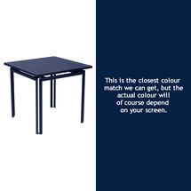 Costa Square Table - Deep Blue