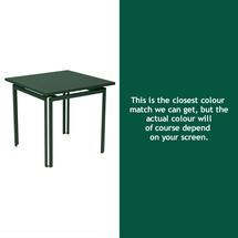 Costa Square Table - Cedar Green