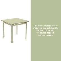 Costa Square Table - Willow Green