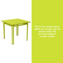 Costa Square Table - Verbena Green