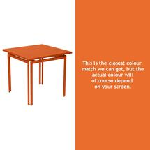 Costa Square Table - Carrot