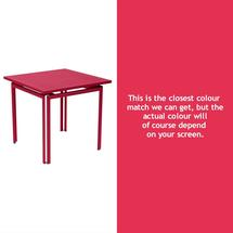 Costa Square Table - Pink Praline
