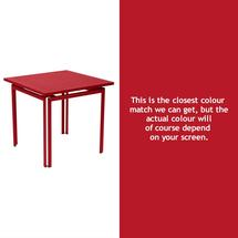 Costa Square Table - Poppy