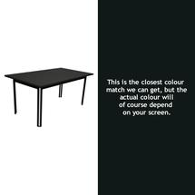 Costa Dining 160x80 Table - Liquorice