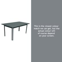 Costa Dining 160x80 Table - Storm Grey