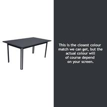 Costa Dining 160x80 Table - Anthracite
