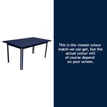 Costa Dining 160x80 Table - Deep Blue