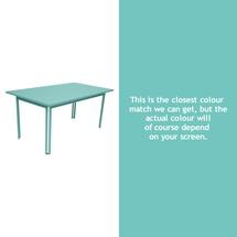Costa Dining 160x80 Table - Lagoon Blue