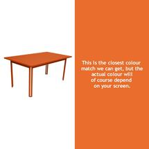 Costa Dining 160x80 Table - Carrot