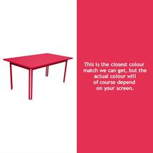 Costa Dining 160x80 Table - Pink Praline