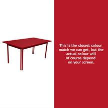 Costa Dining 160x80 Table - Poppy