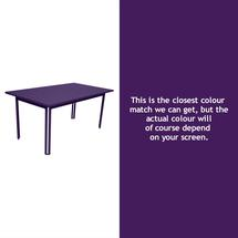 Costa Dining 160x80 Table - Aubergine