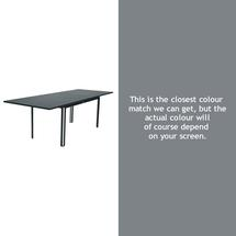 Costa Extending Table - Storm Grey