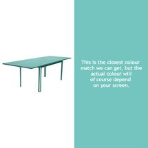 Costa Extending Table - Lagoon Blue
