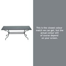 Romane Rectangular 180cm Table - Storm Grey
