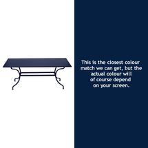 Romane Rectangular 180cm Table - Deep Blue