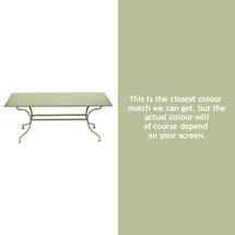 Romane Rectangular 180cm Table - Willow Green