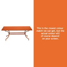 Romane Rectangular 180cm Table - Carrot