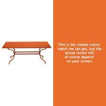 Romane Rectangular 180cm Table - Carrot