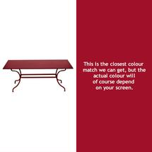 Romane Rectangular 180cm Table - Chilli