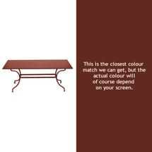 Romane Rectangular 180cm Table - Red Ochre