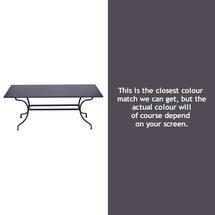 Romane Rectangular 180cm Table - Plum