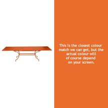 Romane Extending Table - Carrot
