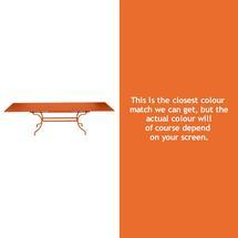 Romane Extending Table - Carrot