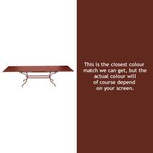 Romane Extending Table - Red Ochre