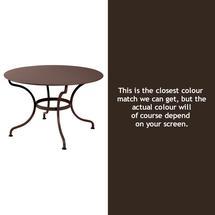 Romane Round 117cm Table - Russet