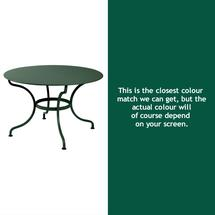 Romane Round 117cm Table - Cedar Green