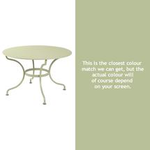 Romane Round 117cm Table - Willow Green