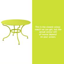 Romane Round 117cm Table - Verbena Green