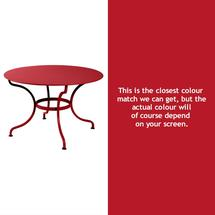 Romane Round 117cm Table - Poppy