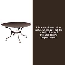Romane Round 137cm Table - Russet
