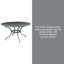 Romane Round 137cm Table - Storm Grey