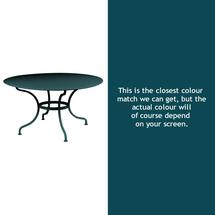 Romane Round 137cm Table - Acapulco Blue