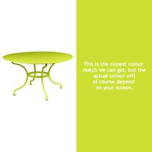 Romane Round 137cm Table - Verbena Green