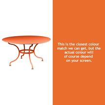 Romane Round 137cm Table - Carrot