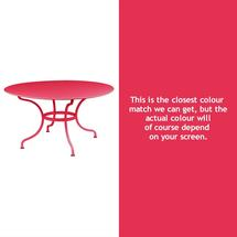 Romane Round 137cm Table - Pink Praline