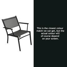 Costa Relaxing Low Chair - Liquorice