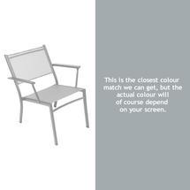 Costa Relaxing Low Chair - Steel Grey