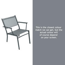 Costa Relaxing Low Chair - Storm Grey