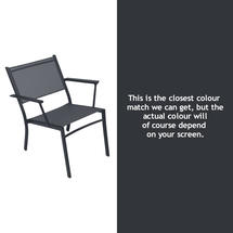 Costa Relaxing Low Chair - Anthracite
