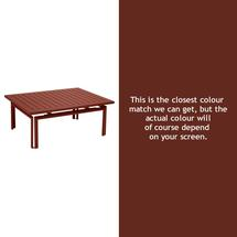 Costa Low Table - Red Ochre
