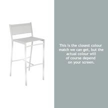 Costa High Chair - Steel Grey