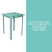 Costa High Table - Lagoon Blue