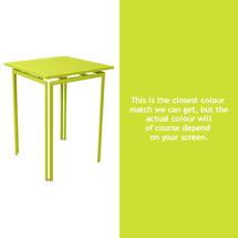 Costa High Table - Verbena Green
